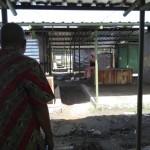 Kondisi pasar darurat Sambi di lapangan Tempursari, Sambi, tampak sepi pengujung dan sepi pedagang, Kamis (16/6/2016). Sepinya pasar salah satunya disebabkan oleh akses jalan yang tak nyaman. (Aries Susanto/JIBI/Solopos)