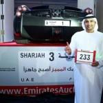 "Pengusaha yang berhasil mendapatkan plat nomer ""1."" (Istimewa/Emirates247.com)"