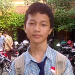 Aldo Arya Saka Mukti, siswi SMP 1 Sragen peraih nilai UN tertinggi (Tri Rahayu/JIBI/Solopos)
