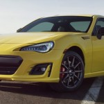 Subaru BRZ Yellow Edition. (Leftlanenews.com)