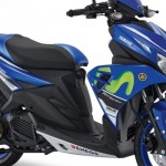 Yamaha Aerox 125LC Motogp Movistar Yamaha. (Yamaha-motor.co.id)
