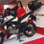 SEPEDA MOTOR YAMAHA:Yamaha Pamer Vixion RTX Bergaya Touring di PRJ 2016