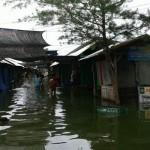 Banjir di Laguna Pantai Glagah, Rabu (8/6/2016). (Sekar Langit Nariswari/JIBI/Harian Jogja)