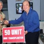 PERTANIAN JATENG : Tahir Foundation Sumbang 50 Mesin Tanam Padi ke Jateng