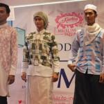 Para model memperagakan busana pria DS For Men yang diluncurkan Karita Muslim Square, belum lama ini. (Bernadheta Dian Saraswati/JIBI/Harian Jogja)