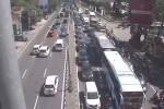 Pantauan arus lalu lintas di persimpangan Monjali Sleman, Sabtu (4/6/2016). (akun twitter (@ATCS_DIY)