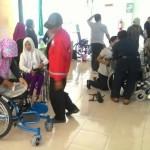 Penyaluran kursi roda untuk penyandang disabilitas di Bantul, Rabu (15/6/2016). (Desi Suryanto/JIBI/Harian Jogja)