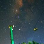 Milky way dalam karya fotografi Danang Dwi Saputra, dari Jogja Astro Club. (Foto istimewa)