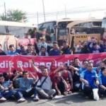 LEBARAN 2016 : Mudik 430 Pedagang Warung Indomie Semarang Digratiskan Indofood