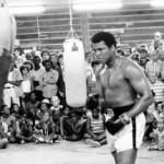 Muhammad Ali saat berlatih untuk pertarungan keduanya melawan Leon Spinks di New Orleans, August 1978 lalu. (Istimewa/Action Images/MSI/Reuters)