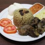 Nasi kebuli di warung Kambing Bakar Bakkah (Shoqib Angriawan/JIBI/solopos)