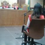 Sidang kasus es kopi berujung maut dengan terdakwa Jessica, Rabu (15/6/2016). (detikcom)