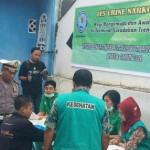 Sejumlah sopir bus di terminal Surodakan saat mengikuti tes urine, Kamis (23/6/2016). (tribratanewsjatim.com)