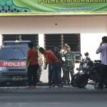 FOTO BOM SOLO : Polisi Olah TKP Lokasi Ledakan di Mapolresta Solo