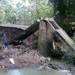 INFRASTRUKTUR SRAGEN : Jembatan Putus, Akses ke Makam Bugel Terganggu