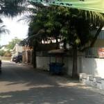Spanduk penolakan PSK mangkal di Kampung Grogolan, Ketelan, Banjarsari, Solo, Jumat (29/7/2016). (Muhammad Ismail/JIBI/Solopos)