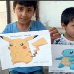 Pokemen jadi simbol keprihatinan di Suriah. (Istimewa/Detik)
