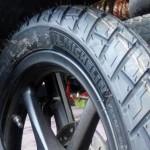 Ban sepeda motor. (Liputan6.com)