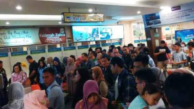 Ilustrasi pemudik menyebut di bandara. (JIBI/Semarangpos.com/Istimewa-Humas Bandara Ahmad Yani)
