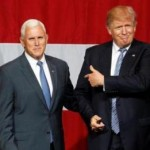 Donald Trump dan Mike Pence (Reuters)