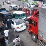 Mobil korban laka karambol Bangjo UMS Pabelan, Sabtu (23/7/2016). (Facebook/Suryono Gorden)