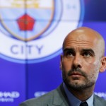 Pelatih Manchester City, Pep Guardiola. (REUTERS/ Phil Noble)