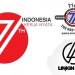 Logo resmi HUT ke-71 Indonesia. (Setneg.go.id)