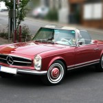 Mercedes Benz 230SL 1964. (Dailymail.co.uk)