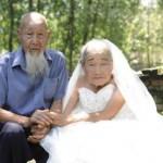 Pasangan tertua di Tiongkok, Qinglin dan Lishi. (Shanghaiist.com)