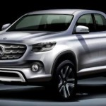 Pikap Mercedes Benz GLT Class 2018. (Autoevolution.com)