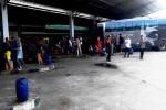 ANGKUTAN UMUM GUNUNGKIDUL : Lebaran Usai, Terminal Dhaksinarga Kembali Sepi