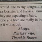 Iklan unik yang dipajang seorang wanita di kolom surat kabar. (Istimewa)