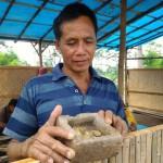 BENDA BERSEJARAH BOYOLALI : Lempengan Kuning Adalah Pripih Berhuruf Kawi