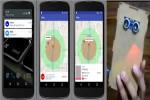 Tampilan aplikasi iFlee pada smartphone pengguna.(dok. UGM)