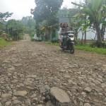 Pengguna jalan melintas di Jl. Beruk-Wonokeling, Kecamatan Jatiyoso, tepatnya di Dusun Kuryo, Wonorejo, Sabtu (16/7/2016). Pembangunan jalan tersebut segera dilakukan. (Kurniawan/JIBI/Solopos)