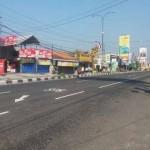 Suasana arus lalu lintas di Simpang Tiga Ringroad Maguwoharjo, Depok, Sleman, Selasa (5/702016). (Sunartono/JIBI/Harian Jogja)