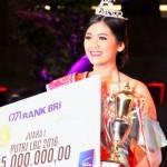 Alissa Zahra Nasution asal Cirebon terpilih menjadi Putri LBC 2016, Minggu (24/7/2016). (Foto istimewa)