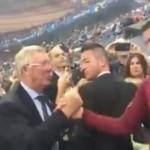 FINAL PIALA EROPA 2016 : Reaksi Ronaldo Saat Bertemu Ferguson Bikin Netizen Terharu