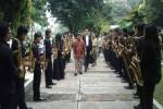 Suasana sekolah saat konduktor nasional Addie MS datang ke SMK N 2 Kasihan (SMM) untuk melakukan uji kompetensi kepada siswa, beberapa waktu lalu.(JIBI/Harian Jogja/dok.SMM)
