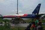 PENDIDIKAN SLEMAN : Eks Sriwijaya Air Parkir di Selokan Mataram, Ada Apa?