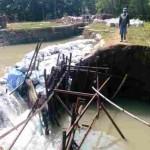 PERTANIAN SRAGEN : Tanggul Saluran Irigasi Dam Colo Timur Jebol di 2 Titik