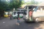 Suasana lalu lintas bus di Terminal Jombor, Sleman, Kamis (7/7/2016) pagi. (Sunartono/JIBI/Harian Jogja)