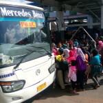 INFO MUDIK 2016 : H+2 Lebaran Pemudik Masih Padati Terminal Purabaya