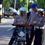 DISIPLIN POLISI : 20 Polisi Terjaring Razia Tim Satlantas dan Provos Sragen