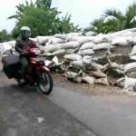 INFRASTRUKTUR SRAGEN : BBWSBS: Tanggul Sungai Bengawan Solo Segera Diperbaiki