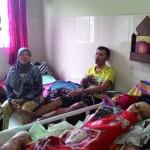 KISAH TRAGIS : Elpiji Meledak, 4 Orang Satu Keluarga di Tasikmadu Karanganyar Alami Luka Bakar