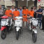 PENCURIAN SUKOHARJO : Polisi Kartasura Bongkar Sindikat Penjualan Motor Curian Via Online