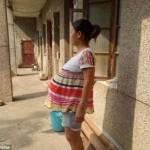 Wang Hua yang mengaku sudah hamil selama 17 bulan. (Istimewa/Dailymail.co.uk)