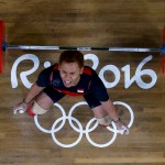 Lifter Indonesia, Eko Yuli Irawan, di Olimpiade 2016. (JIBI/Solopos/Reuters/Yves Herman)