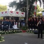 HUT RI : Wow! Dirut Bank Jateng Iringi Paduan Suara dengan Saksofon